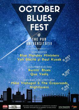 OCTOBER BLUES FEST la The PUB Universitatii