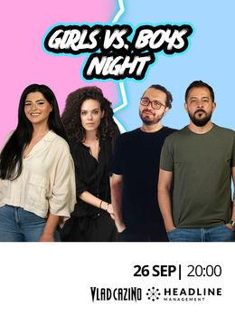 The Fool: Girls vs. Boys Night cu Gabriel Gherghe, John, Ioana State și Irina Ștefan