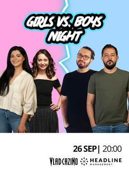 The Fool: Girls vs. Boys Night cu Gabriel Gherghe, John, Ioana State și Ana Maria Calița