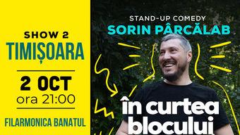 Timisoara: Filmare Stand Up Special cu Sorin Pârcălab Show 2