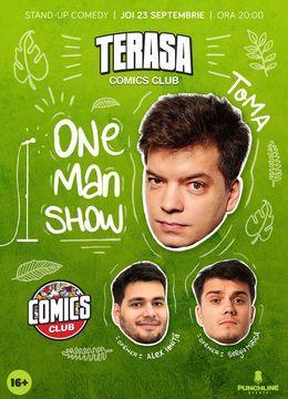 One Man Show cu Toma @Comics Club