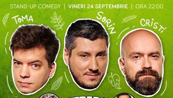Show#2 : Stand Up Comedy cu Cristi, Toma si Sorin @Comics Club
