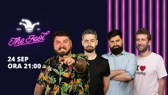 The Fool: Stand-up comedy cu Micutzu, Bucălae, Geo și Radu Isac