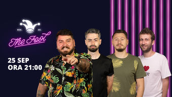 The Fool: Stand-up comedy cu Micutzu, Bucălae, Radu Isac și Claudiu Popa