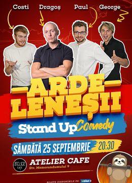 Cluj: Stand-up Comedy cu Ardeleneșii   Invitat: Dragos Stan