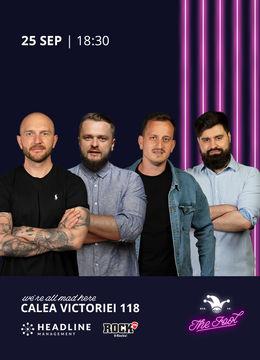 The Fool:  Stand-up comedy cu Bordea, Cortea, Mane și Geo