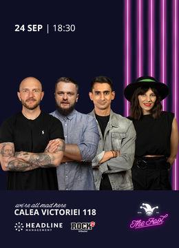 The Fool:  Stand-up comedy cu Bordea, Cortea, Florin și Teodora