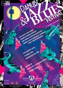 Danube Jazz & Blues Festival - 24 septembrie