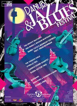Danube Jazz & Blues Festival - 26 septembrie