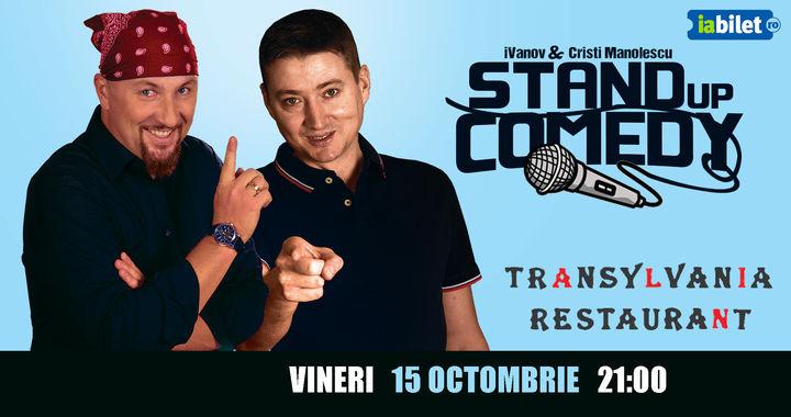 Bristol: Stand-up Comedy - Doru Ivanov si Cristi Manolescu