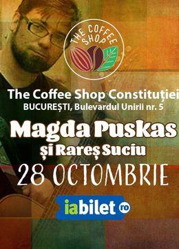 The Coffee Shop Music - Concert Magda Puskas si Rares Suciu