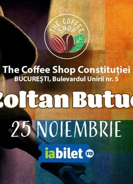 The Coffee Shop Music - Concert Zoltan Butuc