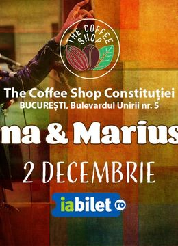 The Coffee Shop Music - Concert Marius si Tatiana Ojog