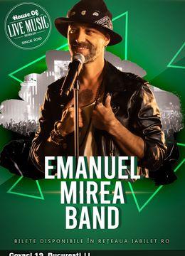 Emanuel Mirea Band LIVE în True Club