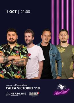 The Fool: Stand-up comedy cu Micutzu, Radu Isac, Mane și Claudiu