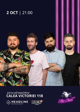 The Fool: Stand-up comedy cu Micutzu, Bucălae, Radu Isac și Geo