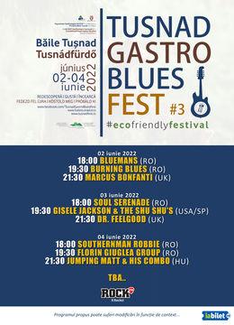 Tusnad Gastro Blues Fest ediția a III-a