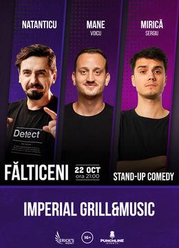 Fălticeni: Stand up comedy cu Natanticu, Mane Voicu, Sergiu Mirica