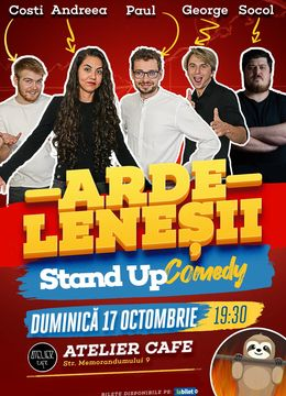 Cluj: Stand-up Comedy cu Ardeleneșii | Invitat: Paul Socol