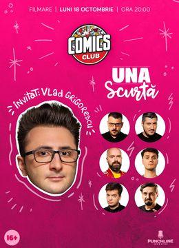 Una Scurtă cu Vlad Grigorescu în ComicsClub!