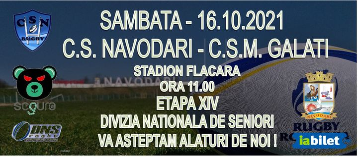 Navodari: C.S. NAVODARI - C.S.M GALATI / Etapa XIV Divizia Nationala de Seniori
