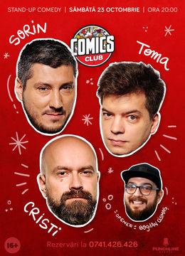Stand-up cu Cristi, Toma și Sorin în ComicsClub!