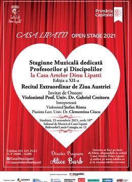 Stagiune Muzicală dedicată Profesorilor și Discipolilor