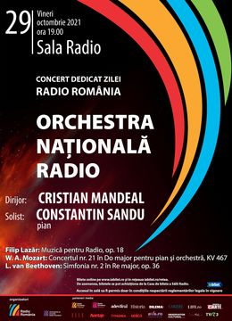 Sala Radio: Cristian Mandeal -  Orchestra Nationala Radio