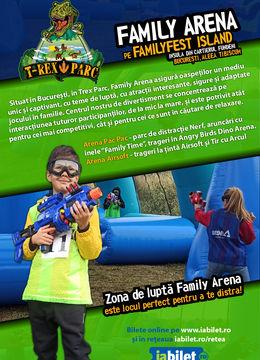 Family Arena pe Familyfest Island