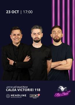 The Fool: Stand-up comedy cu Tănase, Bucălae, Cîrje