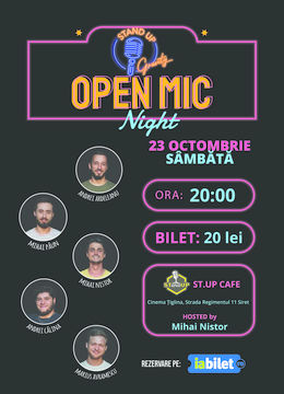 Stand up comedy show la ST.UP