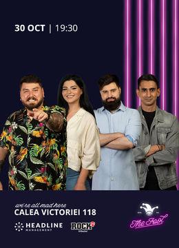 The Fool: Stand-up comedy cu Micutzu, Geo, Ioana State și Florin Gheorghe