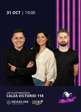 The Fool: Stand-up comedy cu Tănase, State, Bucălae
