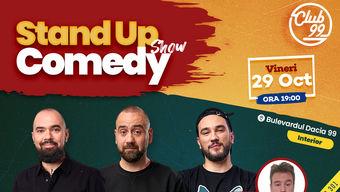 Stand up comedy la Club 99 cu Teo, Vio, Dracea & Dragos Kete