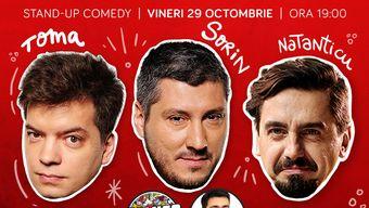 Stand-up cu Toma, Sorin și Natanticu în ComicsClub!