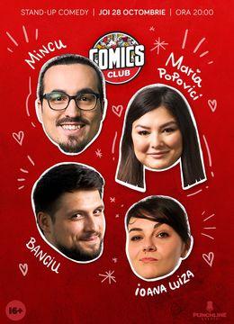 Stand-up cu Maria, Mincu, Banciu si Ioana Luiza în ComicsClub!