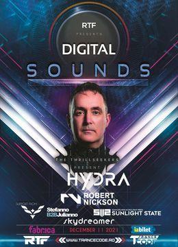 Digital Sounds w. THRILLSEEKERS pres.HYDRA / ROBERT NICKSON