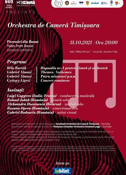 Povestiri din Banat - Orchestra de Cameră Timișoara