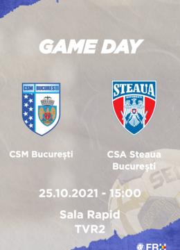 CSM Bucuresti – CSA STEAUA BUCURESTI