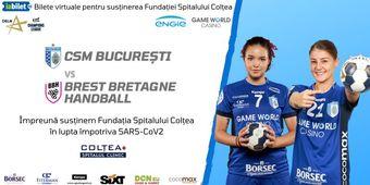 CSM Bucuresti - Brest Bretagne / Eveniment caritabil
